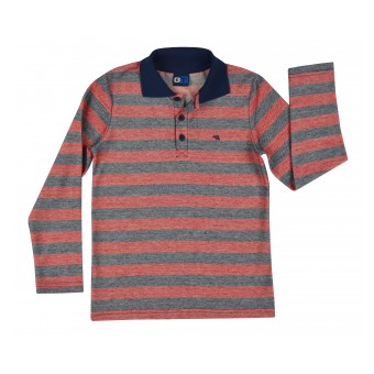 bluzka polo w paski - GT-6376
