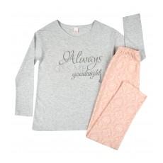 piżama damska długi rękaw - A-7992