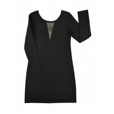 elegancka sukienka z dżetami - A-7995