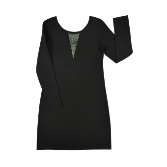 elegancka sukienka z dżetami