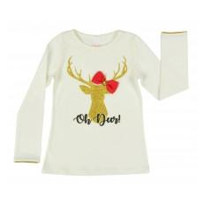 bluzeczka dziewczęca długi rękaw - A-7954