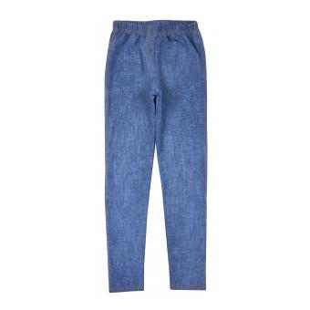 legginsy dziewczęce a`la jeans - A-8007