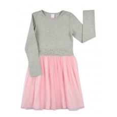 sukienka dziewczęca z tiulem - A-8034
