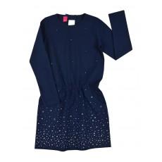 sukienka dziewczęca z kieszonkami - A-8056