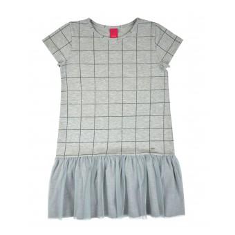 sukienka z tiulowym dołem - A-7420