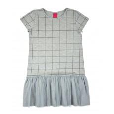 sukienka z tiulowym dołem - AL-7537