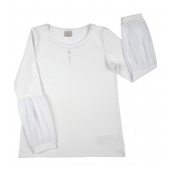 bluzka dziewczęca długi rękaw