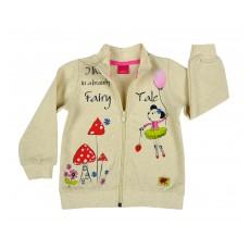 bluza dziewczęca długi zamek - AZ-7986