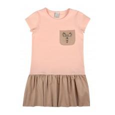 sukienka krótki rękaw - A-8111