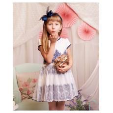 sukienka z tiulowym dołem - A-8104