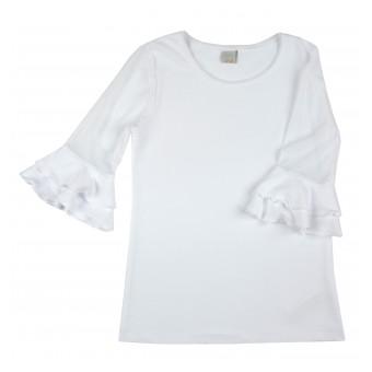 bluzka rękaw 3/4 - A-8133