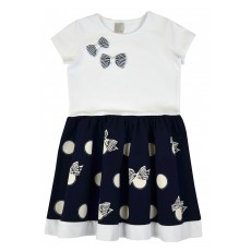 sukienka dziewczęca krótki rękaw - A-8147