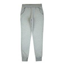 spodnie dresowe ze srebrną nitką - A-8066
