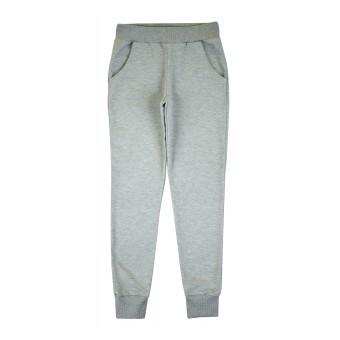 spodnie dresowe ze srebrną nitką