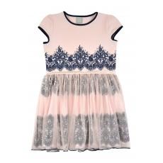 sukienka z tiulowym dołem - A-8103