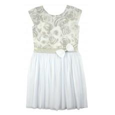 sukienka z tiulowym dołem - A-8134