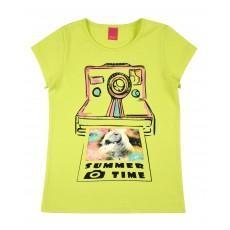 bluzka dziewczęca krótki rękaw - A-8140