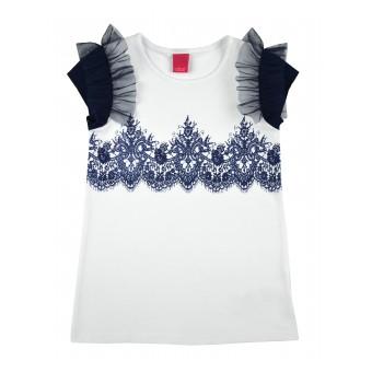 bluzeczka dziewczęca krótki rękaw
