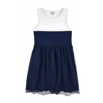 sukienka dziewczęca z tiulem - A-8189