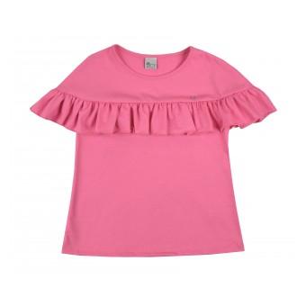 bluzeczka dziewczęca krótki rękaw - A-8192