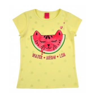 bluzeczka dziewczęca krótki rękaw - A-8208