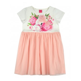 sukienka z tiulowym dołem - A-8240