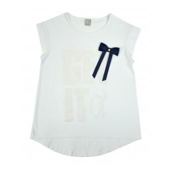 bluzka krótki rękaw - A-8246