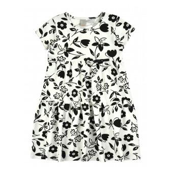 sukienka dziewczęca z maleńką kokardką - A-8265