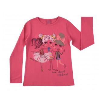 bluzeczka dziewczęca długi rękaw - A-7839