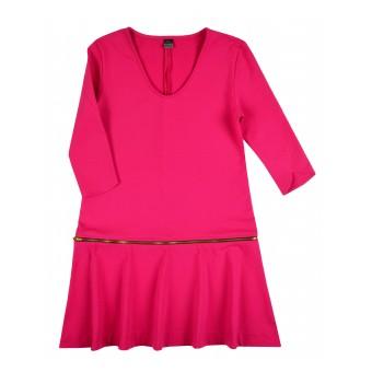 sukienka z odsuwanym dołem - A-7434