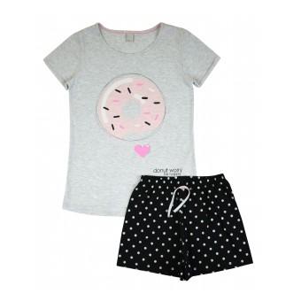 piżama krótki rękaw - A-8160