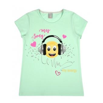 bluzeczka dziewczęca krótki rękaw - A-8278
