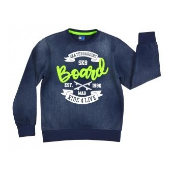 bluza chłopięca a`la jeans - GT-6214