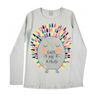 bluzka dziewczęca długi rękaw - A-8286