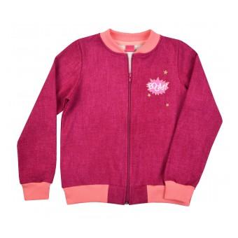 bluza dziewczęca długi zamek - A-8291