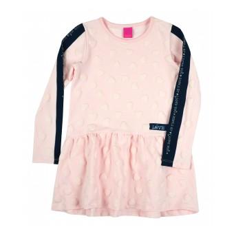 sukienka dziewczęca długi rękaw - A-8301