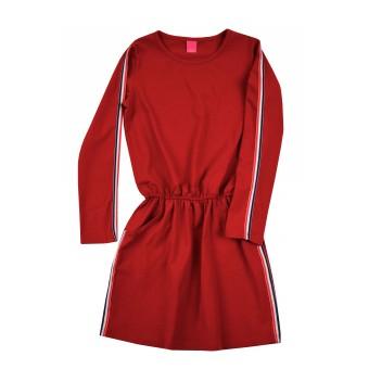 sukienka z lampasami - A-8391