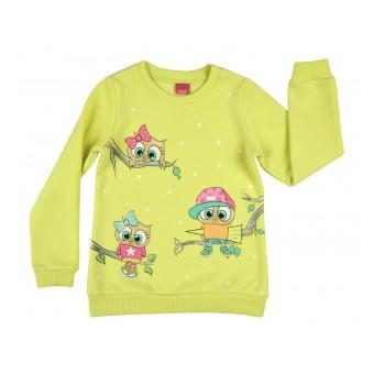 cieplutka bluza dziewczęca - A-8137
