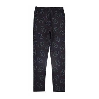 ciepłe legginsy dziewczęce a`la jeans