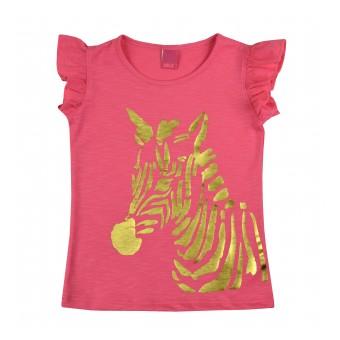 bluzeczka dziewczęca krótki rękaw - A-8191