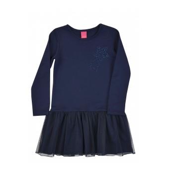 sukienka dziewczęca z tiulem - A-7957