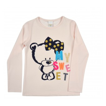 bluzeczka dziewczęca długi rękaw - A-8443
