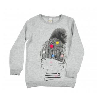 sweterek dziewczęcy - A-8506