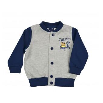 bluza a`la baseballówka dla maluszka