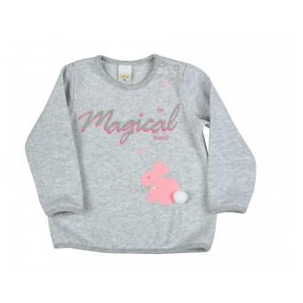 sweterek dziewczęcy - A-8513