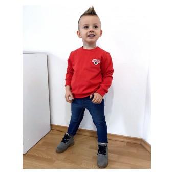 bluza chłopięca w modnym kolorze - GT-6975