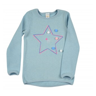 sweterek dziewczęcy - A-8509