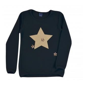 mięciutki sweterek dziewczęcy - A-8518