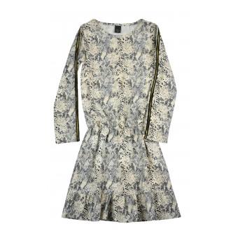sukienka dziewczęca długi rękaw - A-8540