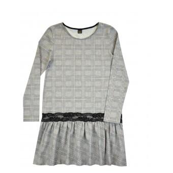 sukienka z koronką - A-8559